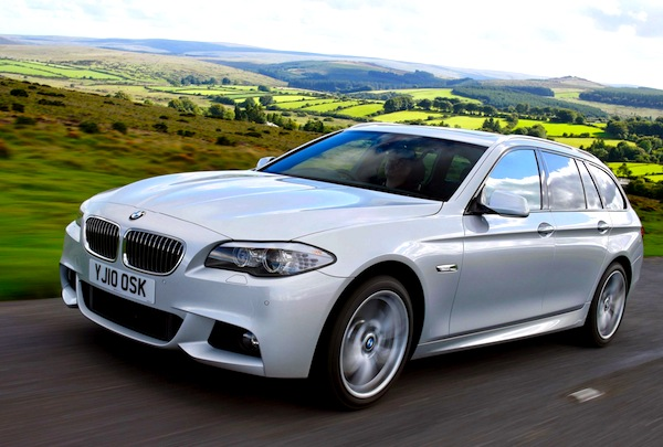 BMW 5 Series Ireland April 2013