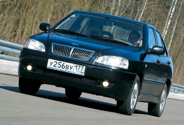 Chery Amulet Russia 2007