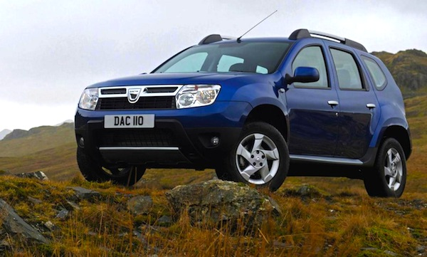 Dacia Duster Ireland April 2013