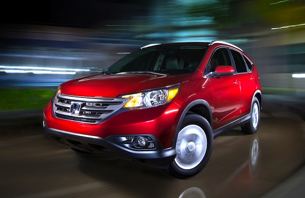 Honda CR-V New York 2012