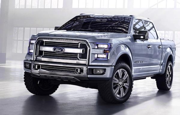 Ford Atlas concept USA June 2013