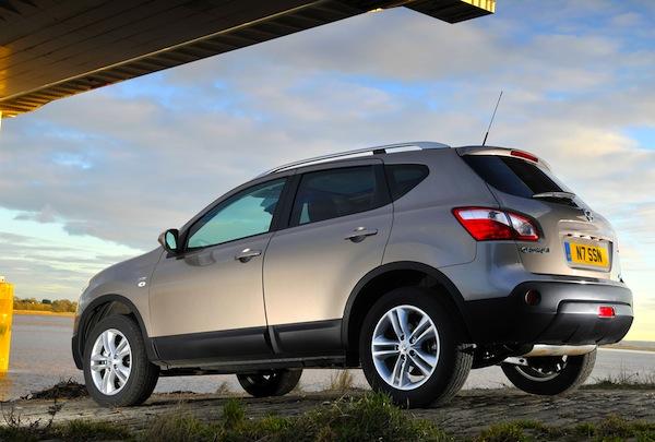 Nissan Qashqai Europe May 2013