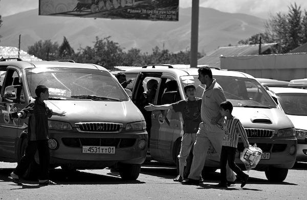Hyundai H1 Dushanbe Tajikistan 2012