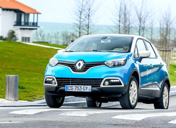 Renault Captur Netherlands August 2013