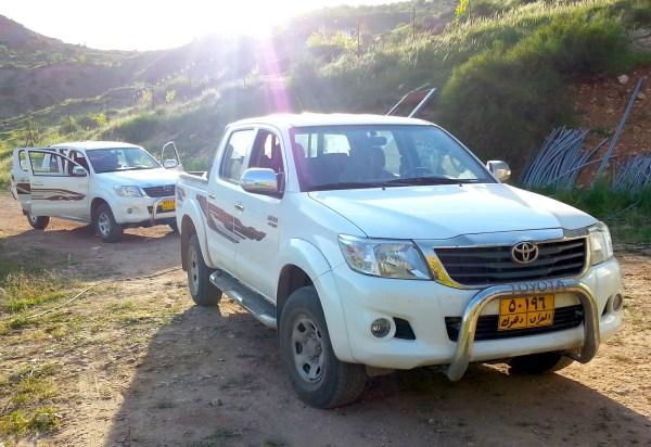 Toyota HIlux Iraq June 2013