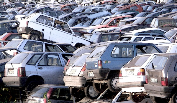 Car scrappage in Italy