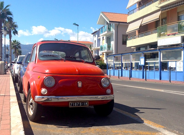 Fiat 500 Italy August 2013