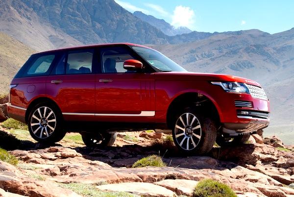 Range Rover Yemen June 2013