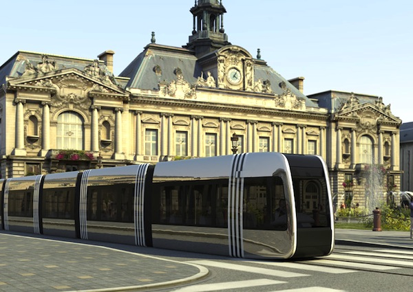 Tramway Tours France. Picture courtesy of agglo-tours.fr