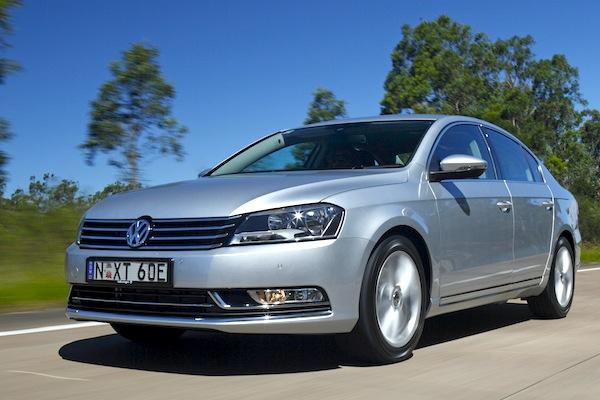 VW Passat Latvia April 2014