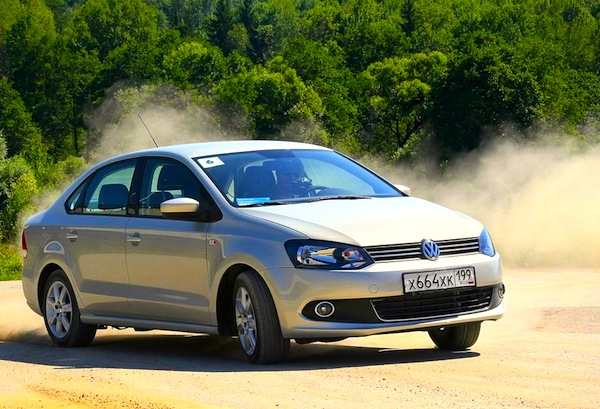 VW Polo Kazakhstan 2015. Picture courtesy of zr.ru