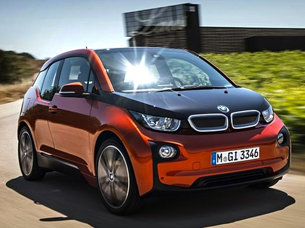 BMW i3 Norway September 2015. Picture courtesy of autozeitung.de