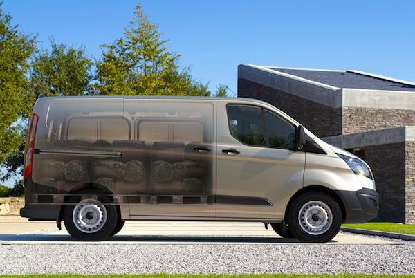 Ford Transit Custom Netherlands August 2013