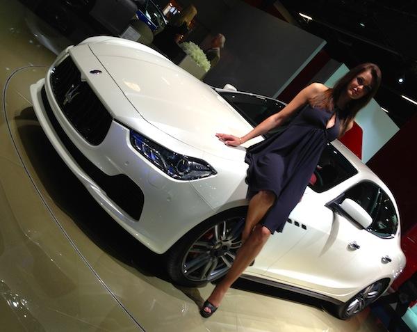 Maserati Ghibli Frankfurt Auto Show September 2013
