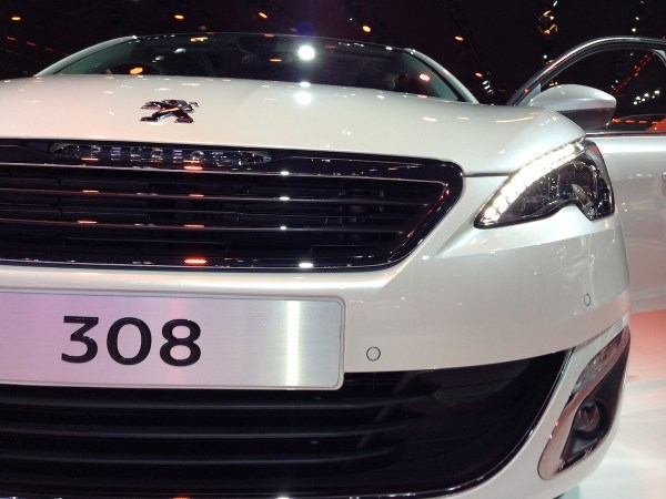 Peugeot 308 Frankfurt Auto Show September 2013c