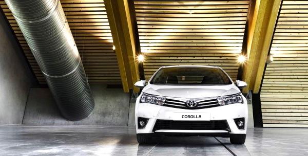 Toyota Corolla UAE July 2013
