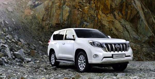 Toyota Prado UAE July 2013