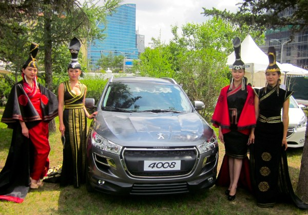 Peugeot 4008 Mongolia Launch