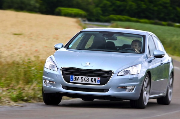 Peugeot 508 Mongolia October 2013. Picture courtesy of largus.fr