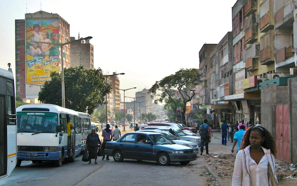 Street scene in Maputo, Mozambique. Picture courtesy of Flickr