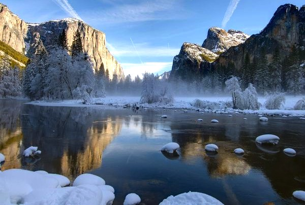 Yosemite USA. Picture courtesy of National Geographic