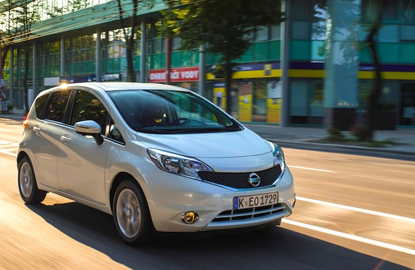 Nissan Note Bulgaria May 2014 Picture courtesy of largus.fr