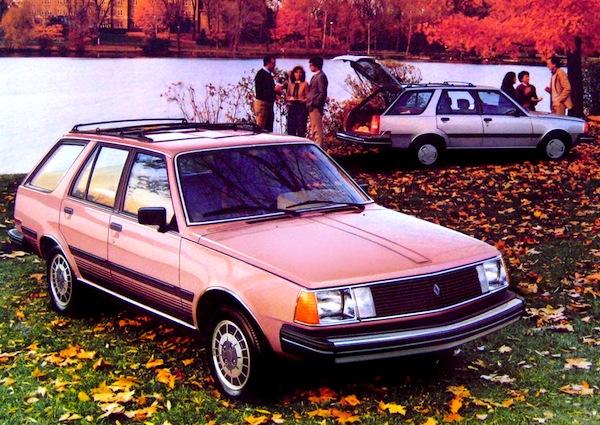 Renault 18i Sportwagon USA 1981