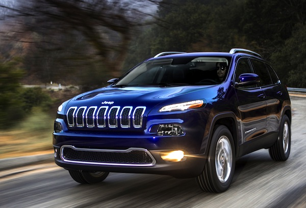 Jeep Cherokee Canada July 2015. Picture courtesy of motor trend.com