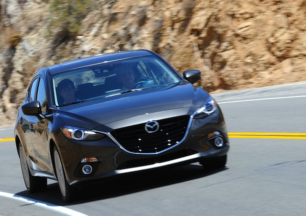Mazda3 Canada November 2013. Picture courtesy of motortrend.com
