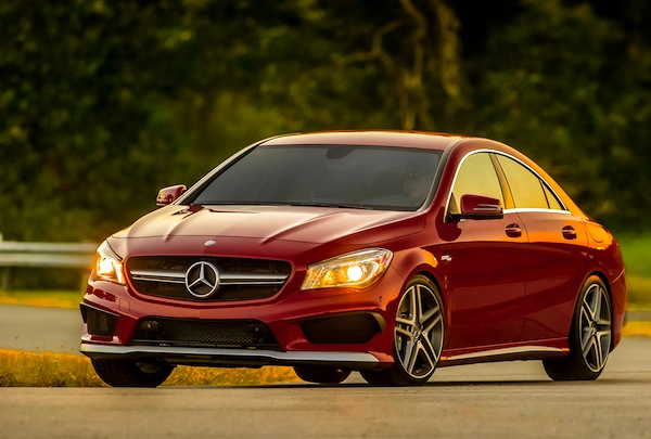 Mercedes CLA USA November 2013. Picture courtesy of motortrend.com