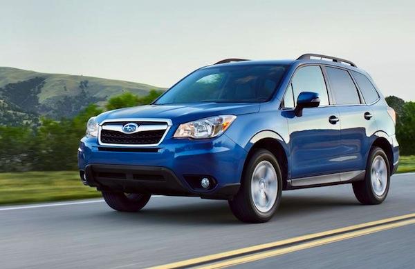 Subaru Forester USA November 2013
