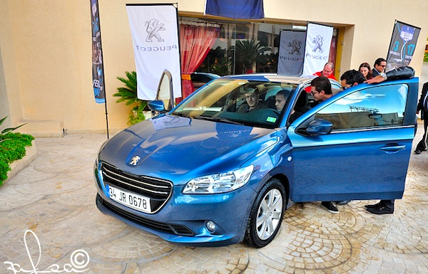 Peugeot 301 Tunisia 2013. Picture courtesy of tunisietuning.com