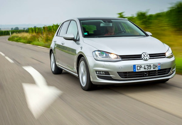 VW Golf FYR of Macedonia July 2014. Picture courtesy of largus.fr