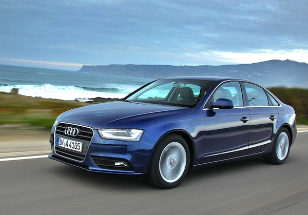 Audi A4 Monaco 2013. Picture courtesy of largus.fr