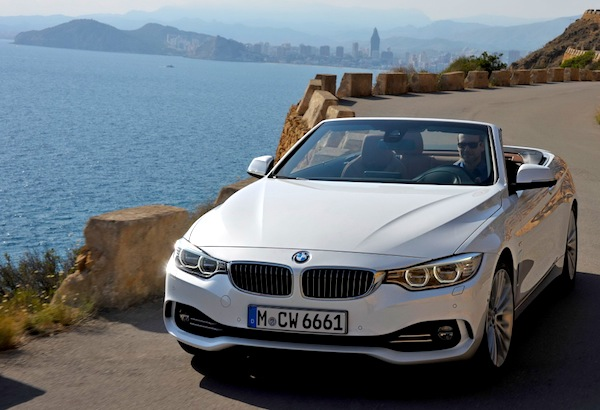 BMW 4 Series Portugal January 2014. Picture courtesy of largus.fr