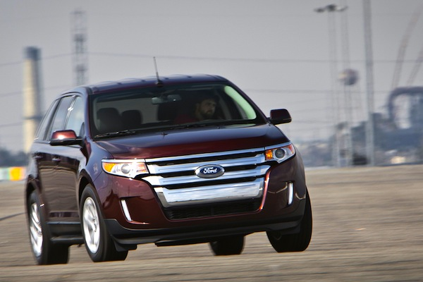 Ford Edge Qatar January 2014. Picture courtesy of motortrend.com