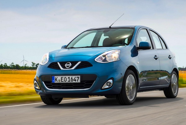 Nissan Micra Greece March 2016. Picture courtesy of largus.fr