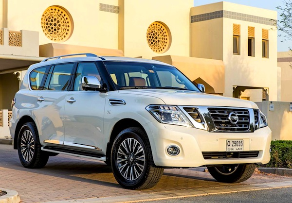 Nissan Patrol Gulf January 2014. Picture courtesy of motoringme.com