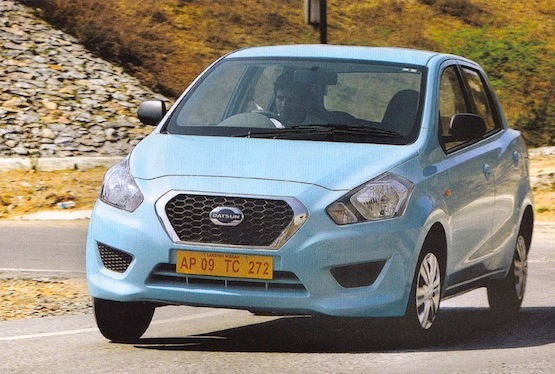 Datsun Go South Africa September 2014 for . Picture courtesy of What Car India