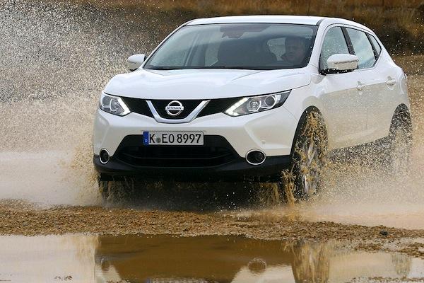Nissan Qashqai Portugal March 2015. Picture courtesy of autobild.de