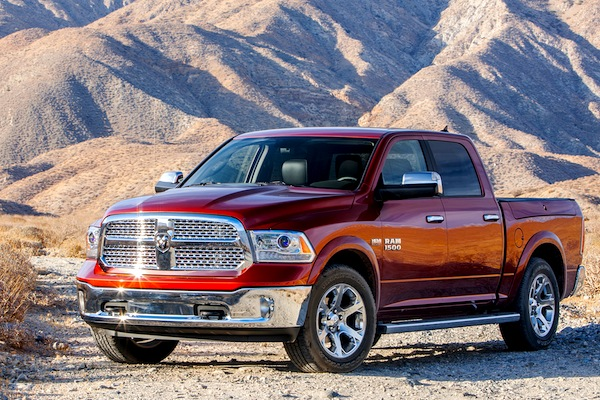 Ram 1500 USA March 2014. Picture courtesy of motortrend.com