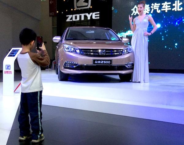 Zotye fun Beijing 2014b