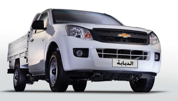 Chevrolet TFR Egypt November 2015. Picture courtesy of egyspeed.com
