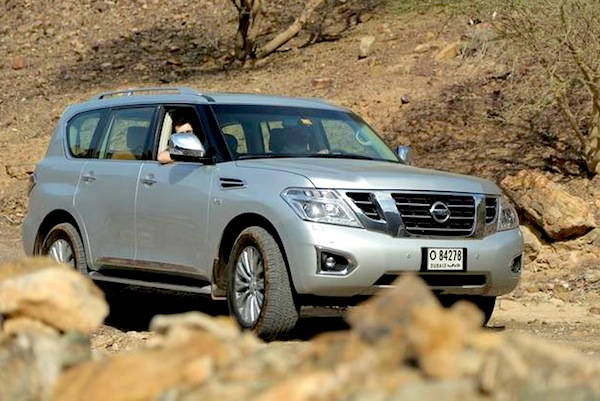 Nissan Patrol Bahrain March 2014. Picture courtesy of uae.yallamotor.com