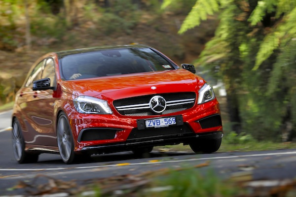 Mercedes A Class Finland October 2014. Picture courtesy of caradvice.com.au