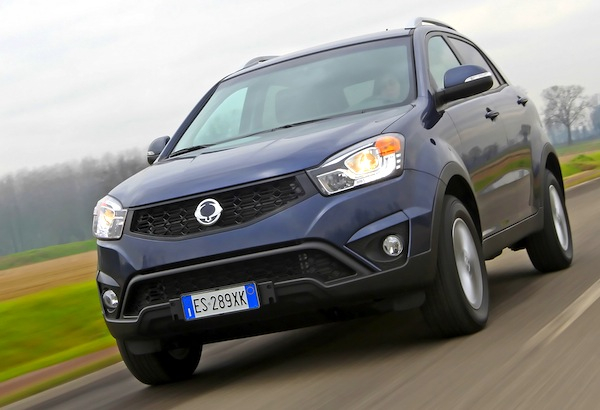 SsangYong Korando Ukraine May 2014