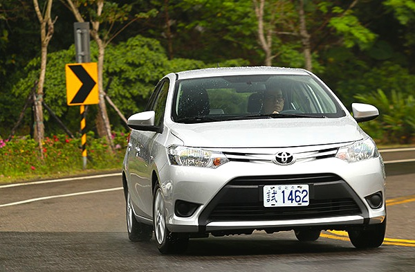 Toyota Vios Taiwan 2014. Picture courtesy of u-car.com.tw