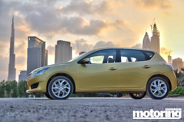 Nissan Tiida UAE 2014
