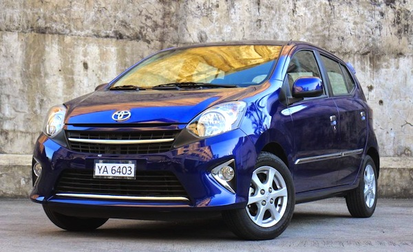 Toyota Wigo Philippines July 2014. Picture courtesy of carguide.ph