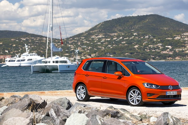 VW Golf Sportsvan Slovenia July 2014